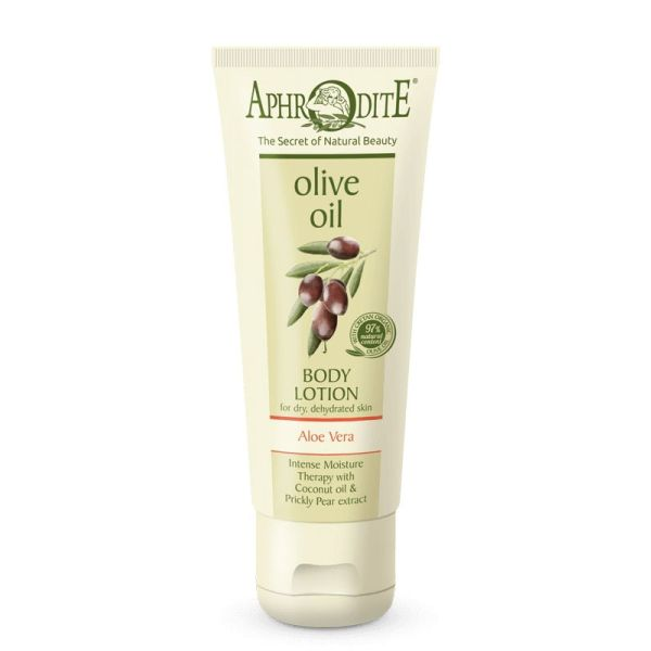 Λοσιόν - Κρέμα Σώματος Aphrodite Olive Oil Λοσιόν Σώματος Αλόη