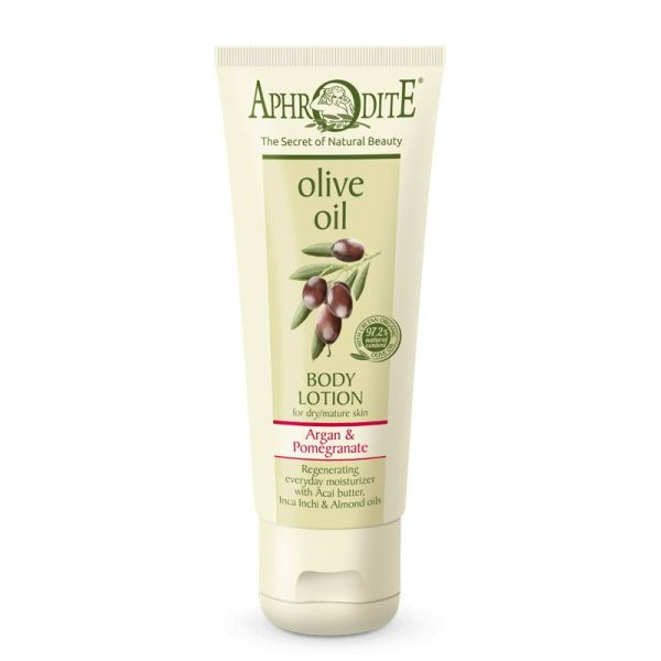 Body Care Aphrodite Olive Oil Body Lotion Argan & Pomegranate