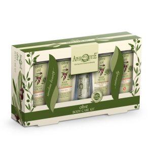 Body Care Aphrodite Olive Oil Body Care Kit with Aloe Vera