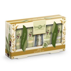 Body Care Aphrodite Olive Oil Body Care Kit with Chamomile