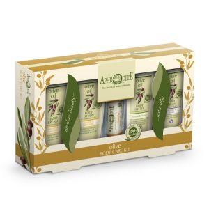 Περιποίηση Σώματος Aphrodite Olive Oil Σετ Περιποίησης Σώματος με Χαμομήλι