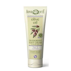 Foot Cream Aphrodite Olive Oil Deodorant Foot Cream Lavender & Sage