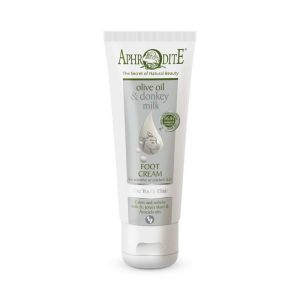Foot Cream Aphrodite Olive Oil & Donkey Milk the Youth Elixir Foot Cream