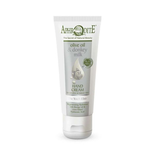 Hand Cream Aphrodite Olive Oil & Donkey Milk the Youth Elixir Hand Cream