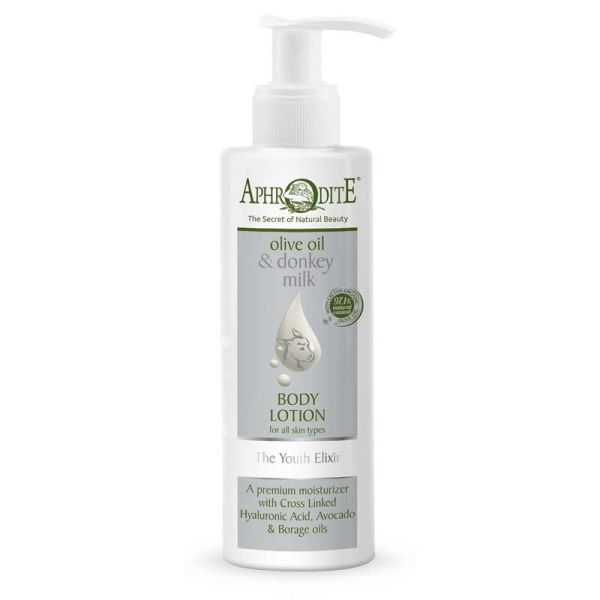 Body Care Aphrodite Olive Oil & Donkey Milk the Youth Elixir Body Lotion