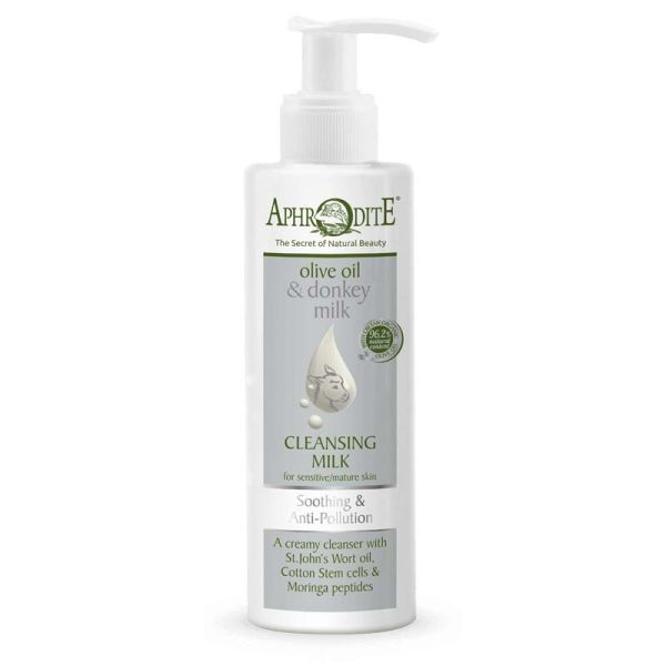 Cleansing Milk Aphrodite Olive Oil & Donkey Milk Soothing & Anti Pollution Cleansing Milk