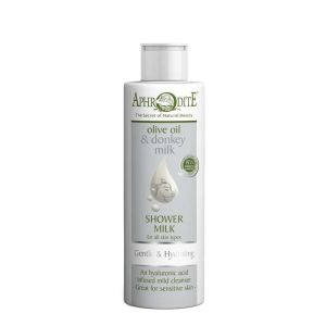 Bath & Spa Care Aphrodite Olive Oil & Donkey Milk Hydrating Shower Milk