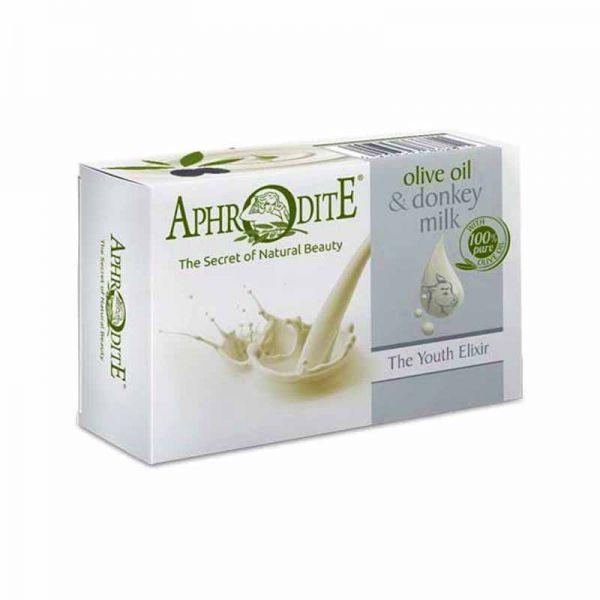 Regular Soap Aphrodite Olive Oil & Donkey Milk the Youth Elixir Soap