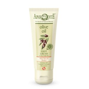 Foot Cream Aphrodite Olive Oil Foot Cream Aloe Vera & Arnica