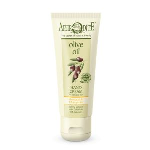 Hand Cream Aphrodite Olive Oil Hand Cream Avocado & Chamomile