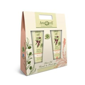 Hand & Foot Care Gift Sets Aphrodite Olive Oil Hand & Foot Care Kit with Aloe Vera