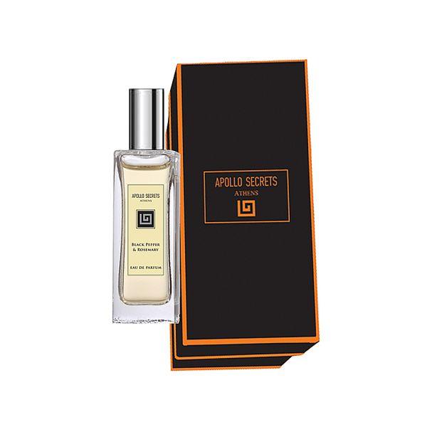 Men's Perfume Apollo Secrets Eau De Parfum Pour Homme Black Pepper & Rosemary
