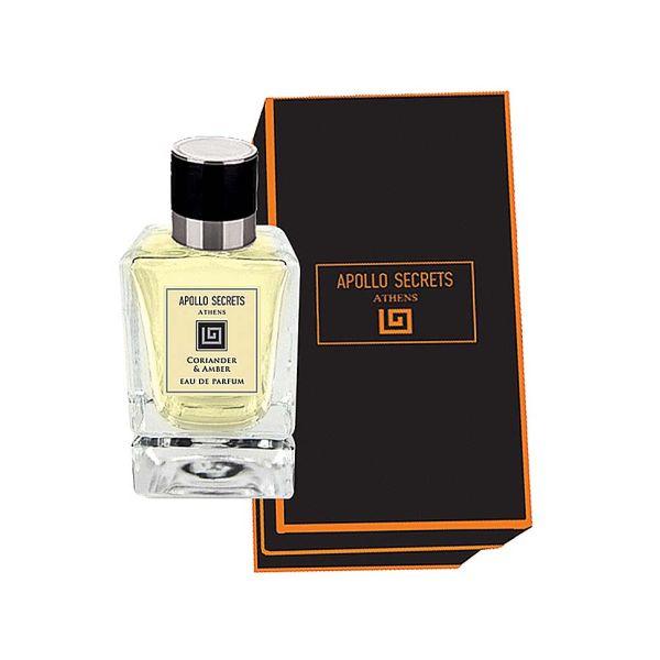Men's Perfume Apollo Secrets Eau De Parfum Pour Homme Coriander & Amber 50ml