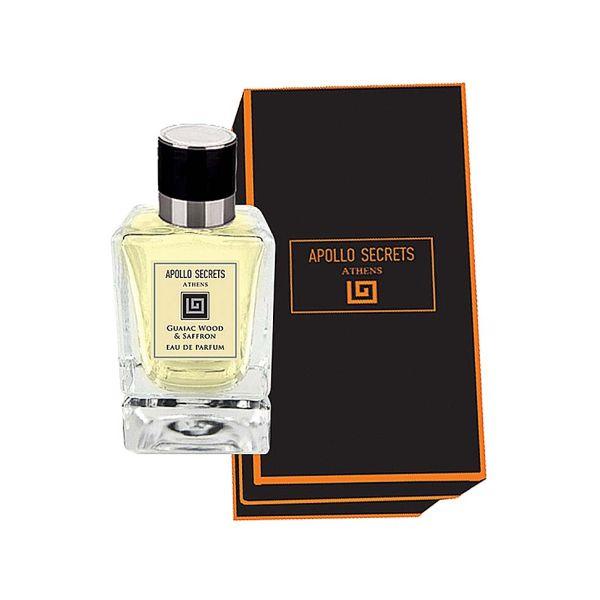 Men's Perfume Apollo Secrets Eau De Parfum Pour Homme Guaiac Wood & Saffron 50ml