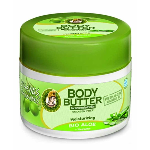 Body Butter Athena's Treasures Body Butter Aloe Vera (Moisturizing, Anti-Ageing)