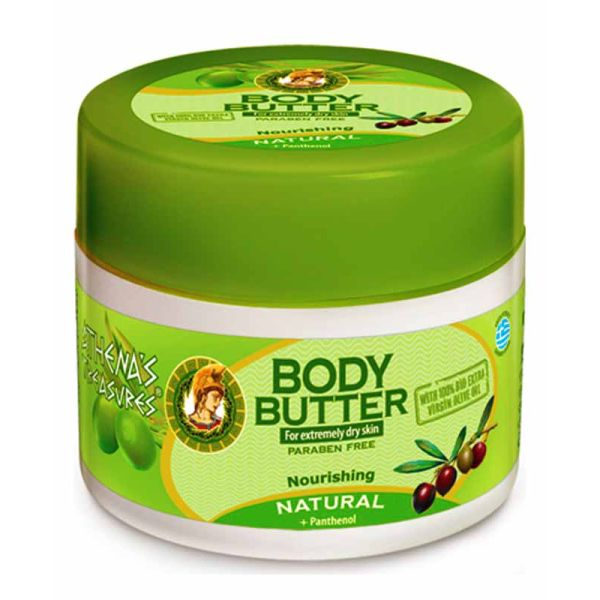 Body Butter Athena's Treasures Body Butter Natural (Anti-wrinkle)