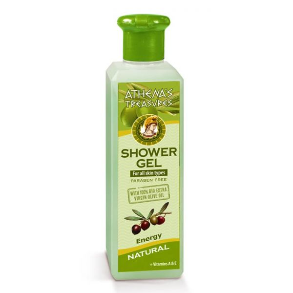 Body Care Athena's Treasures Energy Shower Gel Natural