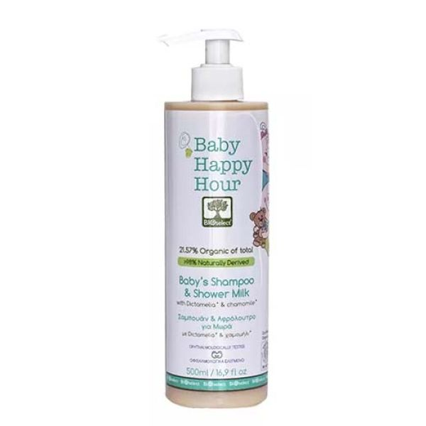 Babies & Kids Care Bioselect Baby's Shampoo & Shower Milk
