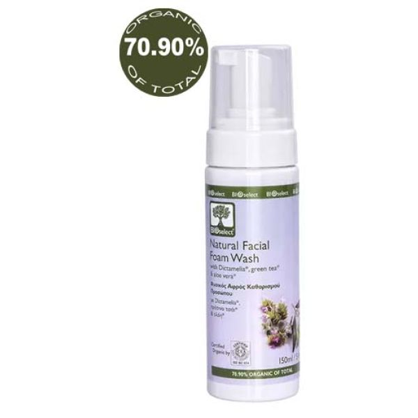 Face Care BIOselect Natural Facial Foam Wash