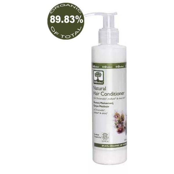 Mαλακτική Κρέμα BIOselect Φυσική Μαλακτική Κρέμα Μαλλιών