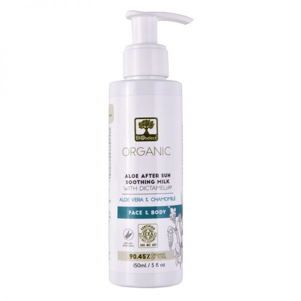 After Sun Care Bioselect Aloe After Sun Soothing Milk
