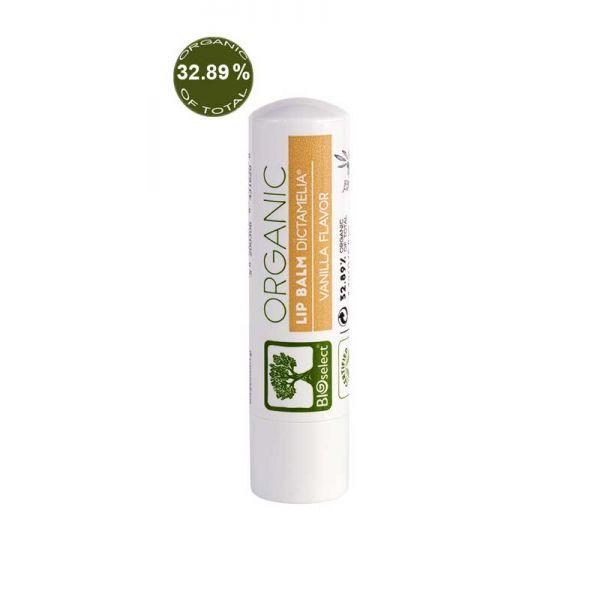 Βούτυρο Χειλιών & Φροντίδα Χειλιών BIOselect Φυσικό Balm για τα Χείλη με Γεύση Βανίλια