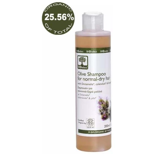 Hair Care BIOselect Olive Shampoo for Normal / Dry Hair