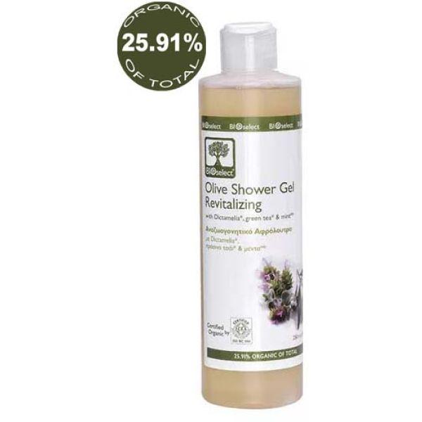 Body Care BIOselect Olive Shower Gel / Revitalizing