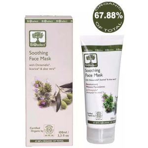 Face Care BIOselect Soothing Face Mask Moisturizing