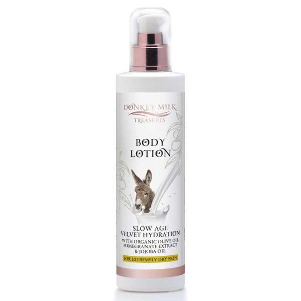 Body Care Donkey Milk Treasures Slow Age / Velvet Hydration Body Lotion