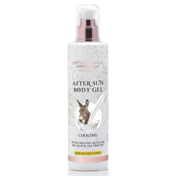 After Sun Care Donkey Milk Treasures Cooling After Sun Body Gel