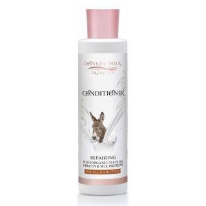 Mαλακτική Κρέμα Donkey Milk Treasures Επανορθωτική Μαλακτική Κρέμα Μαλλιών με Κερατίνη