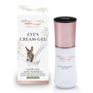 Περιποίηση Προσώπου Donkey Milk Treasures Αντιγηραντικό / Αντιρυτιδικό Κρεμοζελέ Ματιών