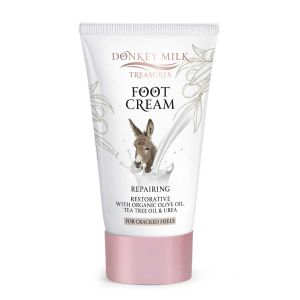 Foot Cream Donkey Milk Treasures Repairing / Restorative Foot Cream