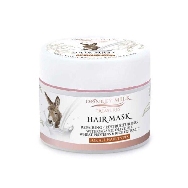 Hair Care Donkey Milk Treasures Repairing / Restructuring Hair Mask