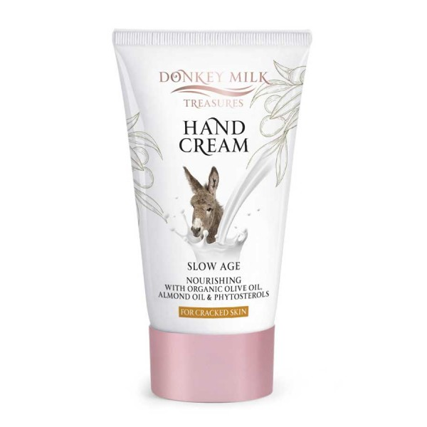 Hand Cream Donkey Milk Treasures Slow Age Nourishing Hand Cream