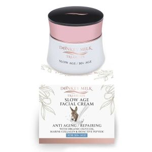 Face Care Donkey Milk Treasures Slow Age Anti-Aging / Repairing Face Cream