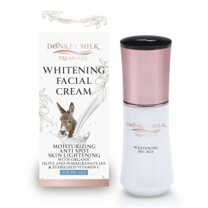 Brightening Cream Donkey Milk Treasures Whitening / Moisturizing / Anti-Spot Face Cream