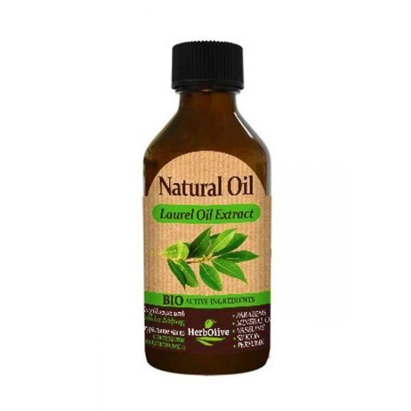 Λάδι Μαλλιών HerbOlive Φυσικό Εκχύλισμα Δάφνης