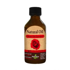 Bath & Spa Care HerbOlive Natural Rose Extract Oil