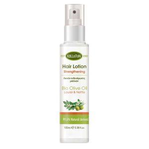 Λάδι Μαλλιών Kalliston Λοσιόν Ενδυνάμωσης Μαλλιών με Δαφνέλαιο & Τσουκνίδα