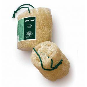 Μπάνιο & Spa Mythos Σφουγγάρι από Ακατέργαστη Λούφα με Κορδόνι