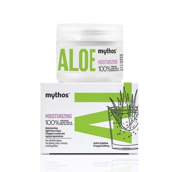 Face Care Mythos Aloe Light Moisturizing Face Cream