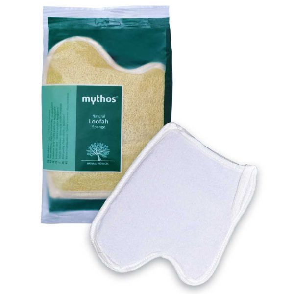 Bath & Spa Care Mythos Loofah Sponge Original Deluxe Palm Shaped