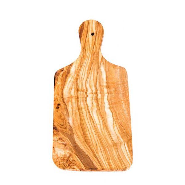 Αντικείμενα από Ξύλο Ελιάς Ξύλινη Επιφάνεια Κοπής 30cm – The Olive Tree