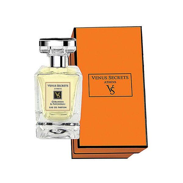 Perfume Venus Secrets Eau De Parfum Geranium & Patsouli 50ml