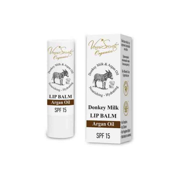 Face Care Venus Secrets Donkey Milk & Argan Oil Lip Balm