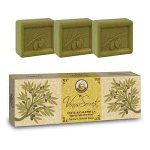 Regular Soap Venus Secrets Triple-Milled Soap Olive & Calendula (3x100gr)