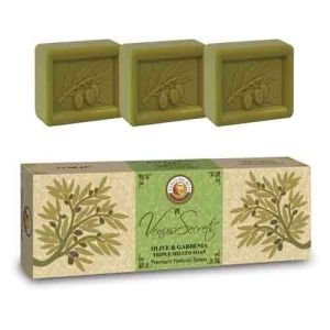 Regular Soap Venus Secrets Triple-Milled Soap Olive & Gardenia (3x100gr)