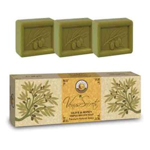 Regular Soap Venus Secrets Triple-Milled Soap Olive & Honey (3x100gr)